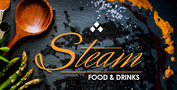STEAM - Restaurant, Pub & Cafe WordPress Theme