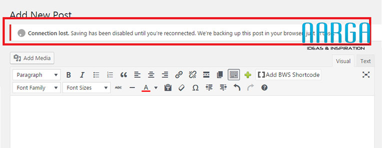 """How to FIX """"Connection lost"""" Error in WordPress"""