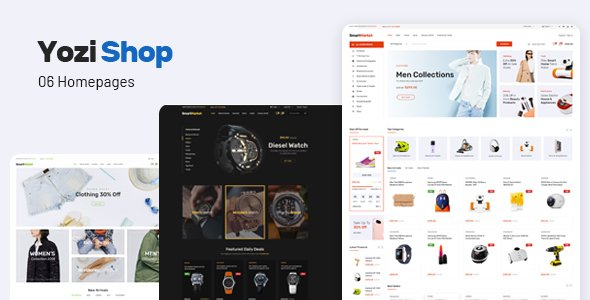 Yozi - Multipurpose Electronics WooCommerce WordPress Theme