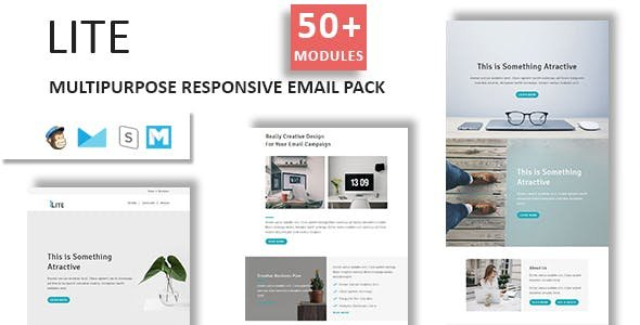 Lite - Mulipurpose Email Template Pack