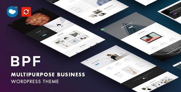 BPF - Responsive Multi-Purpose WordPress Theme