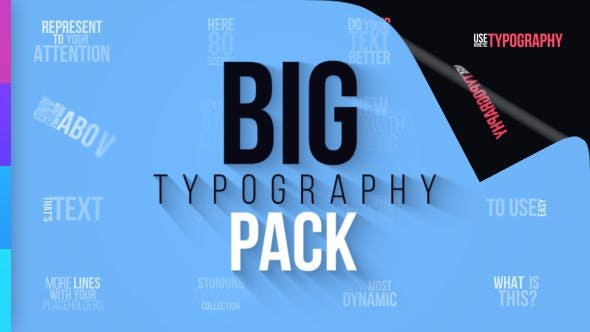 Big Typography Pack