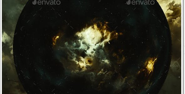 Nebula Space Environment HDRI Map 025