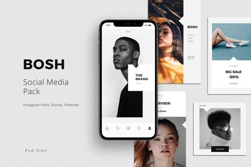 BOSH - Social Media Pack