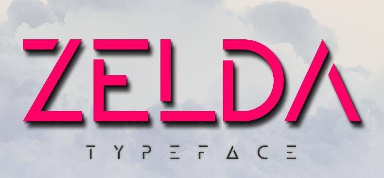 ZELDA Typeface