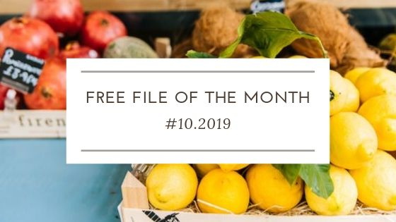 FREE file of the month #10.2019