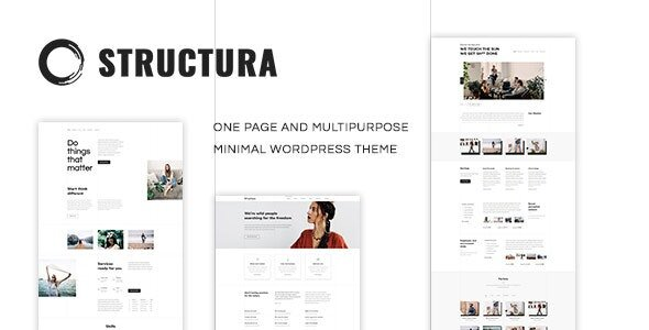 Structura - Minimal One Page