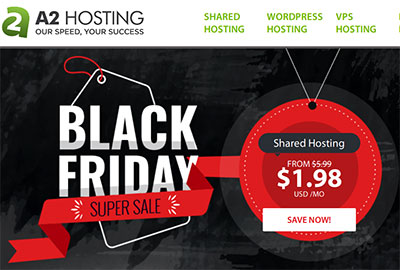 67% OFF on A2 Hosting