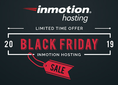 Inmotion Hosting's Black Friday 2019