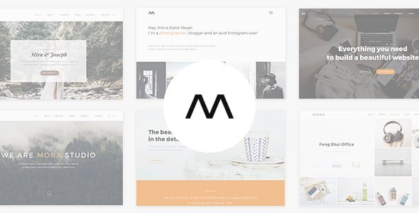 Mora - Creative Portfolio & Photography Theme