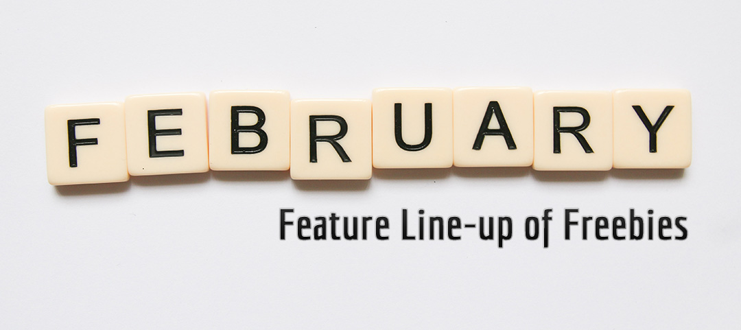 Fedbruary 2020 Feature Line-up of Freebies