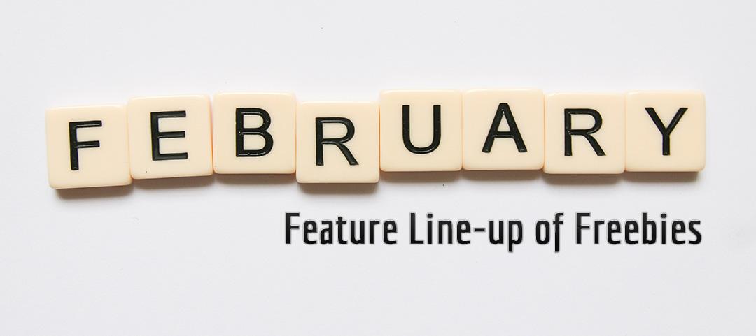 Fedbruary 2020 Feature Line-up of Freebies