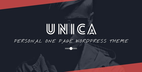 Unica - Personal Resume and Portfolio