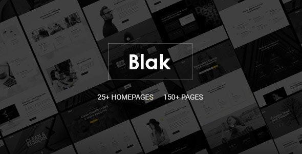 Blak - Responsive MultiPurpose HTML5 Website Template