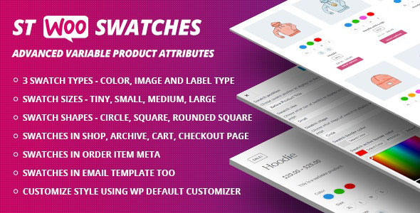 WooCommerce Swatches (Color, Image and Label Swatch)