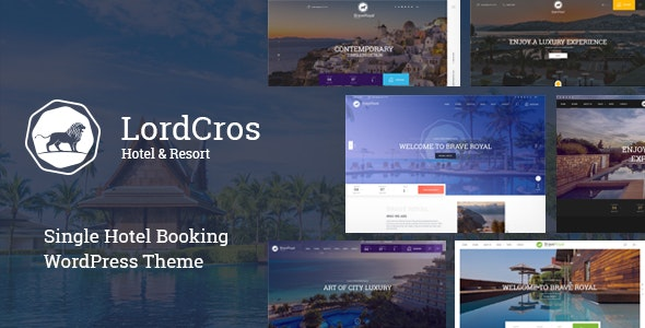 LordCros - Hotel Booking WordPress Them