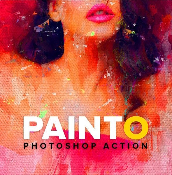 Painto Photoshop Action