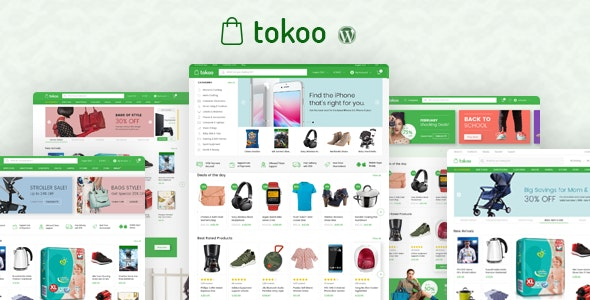 Tokoo - AliExpress WordPress Theme For Drop Shipping Sites