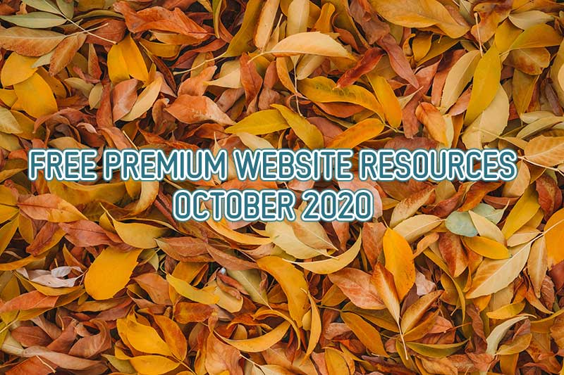FREE Premium Website Resources - October 2020