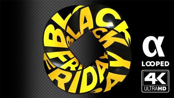 Black Friday Loop Video Effect