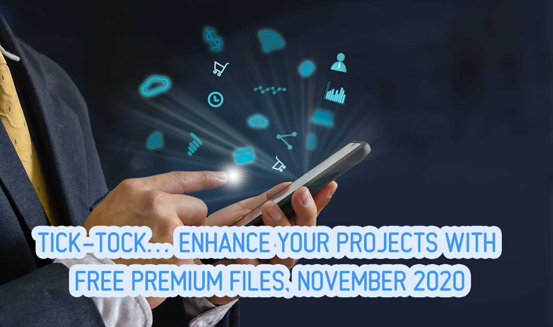 Tick-Tock… Enhance Your Projects with FREE Premium Files