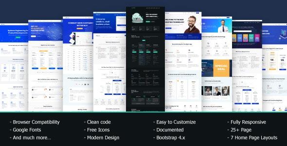 VRocket - HTML5 Hosting Template