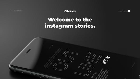 iStories - Instagram Stories Video Template