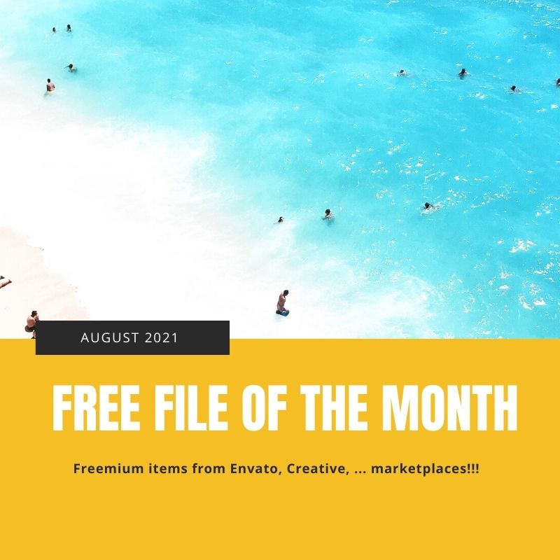2021 August's Free File of the Month