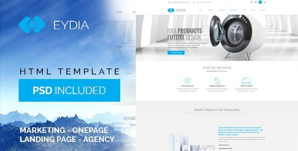 Eydia | Responsive Multi-Purpose HTML5 Template