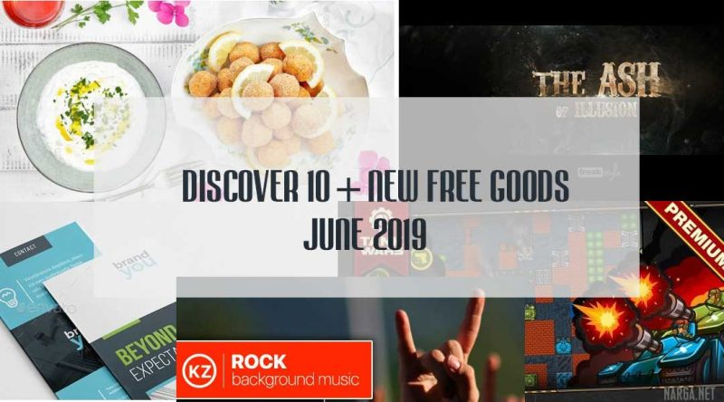 Discover 10+ New FREE Goods, June 2019