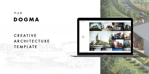 Dogma - Responsive Architecture Template