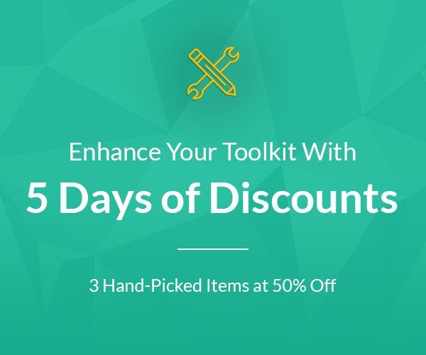 Envato's 50% OFF Selected WordPress Themes, Plugins & Design Assets.