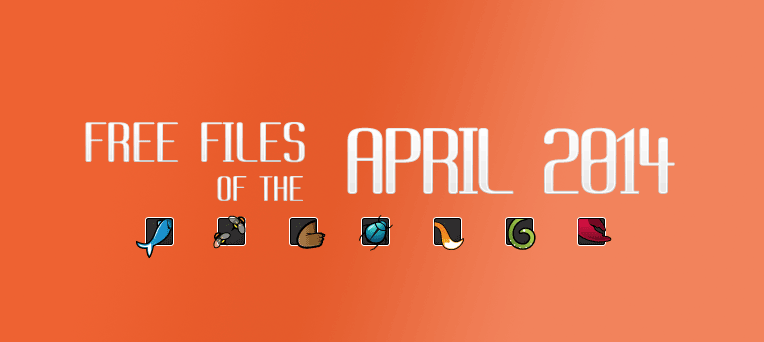FREE files of the month on ThemeForest, CodeCanyon - April, 2014