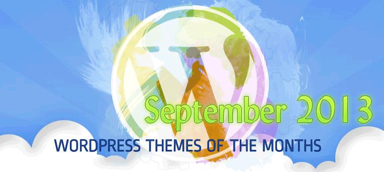 Best Free Premium & Beautiful WordPress Themes September 2013