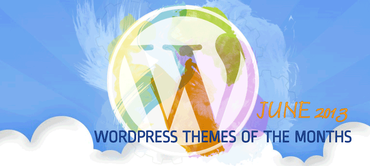 Free Premium WordPress themes of June 2013
