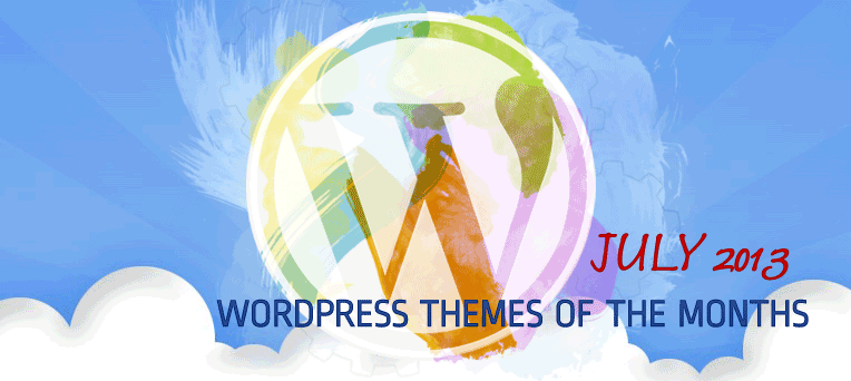 FREE Premium & Beautiful WordPress Themes from July 2013