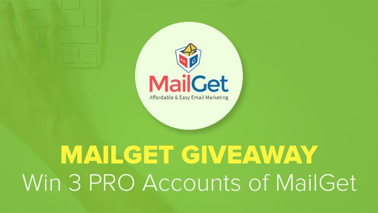 MailGet Giveaway Contest