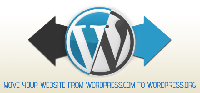 Move from Wordpress.com to your own Wordpress.org self-host