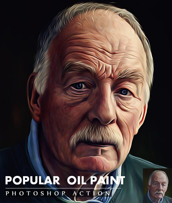 Popular Oil Painting Action