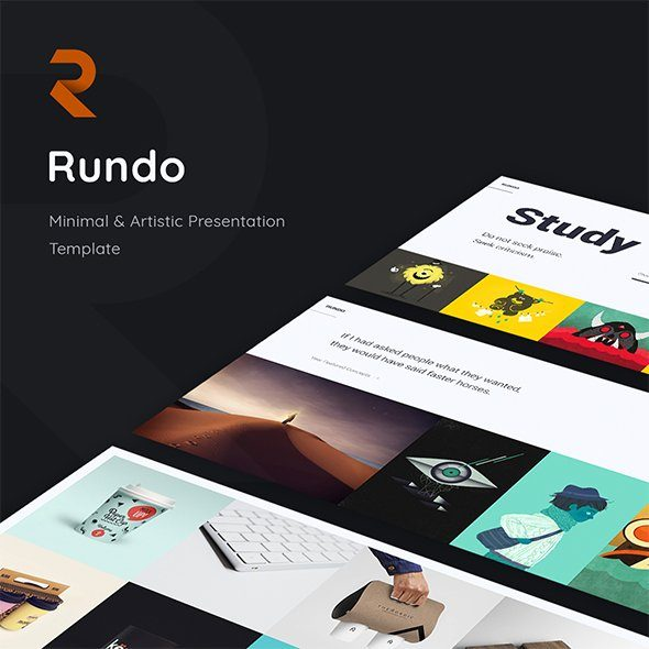 Rundo - Minimal Creative Template