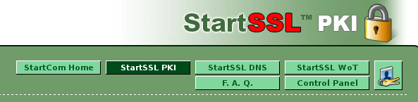 StartComSSL Login to Control Panel-fs8