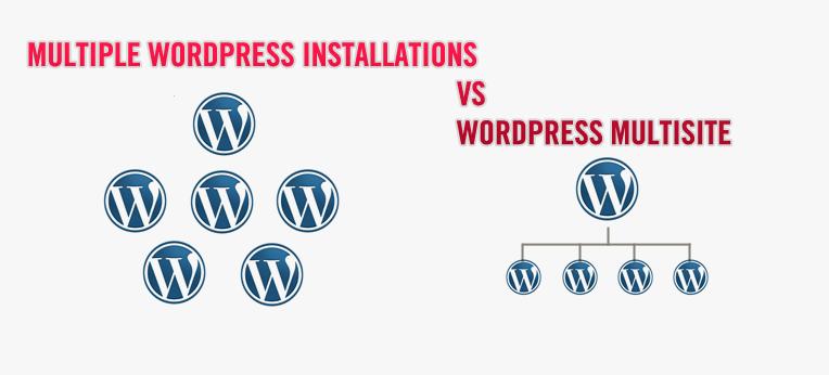 WordPress Multisite vs Multiple WordPress Installations