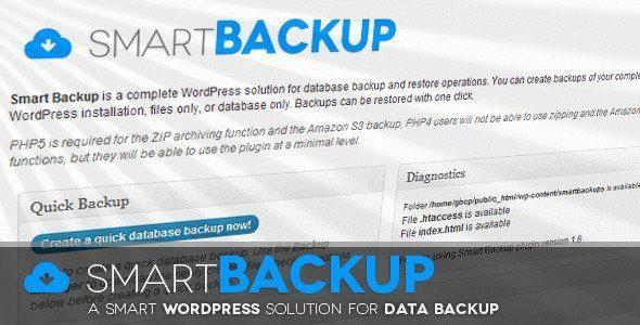 WordPress Smart Backup